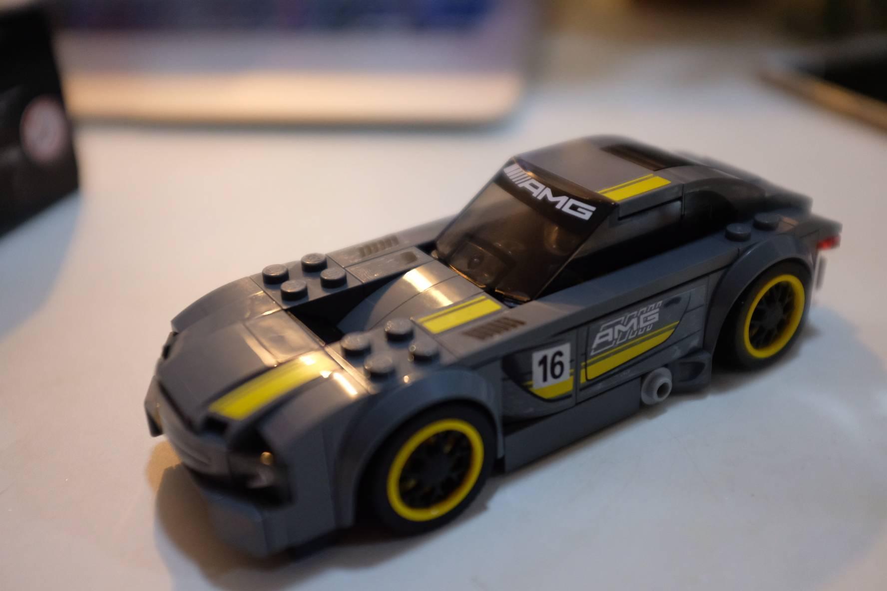 笔者拼的乐高汽车模型