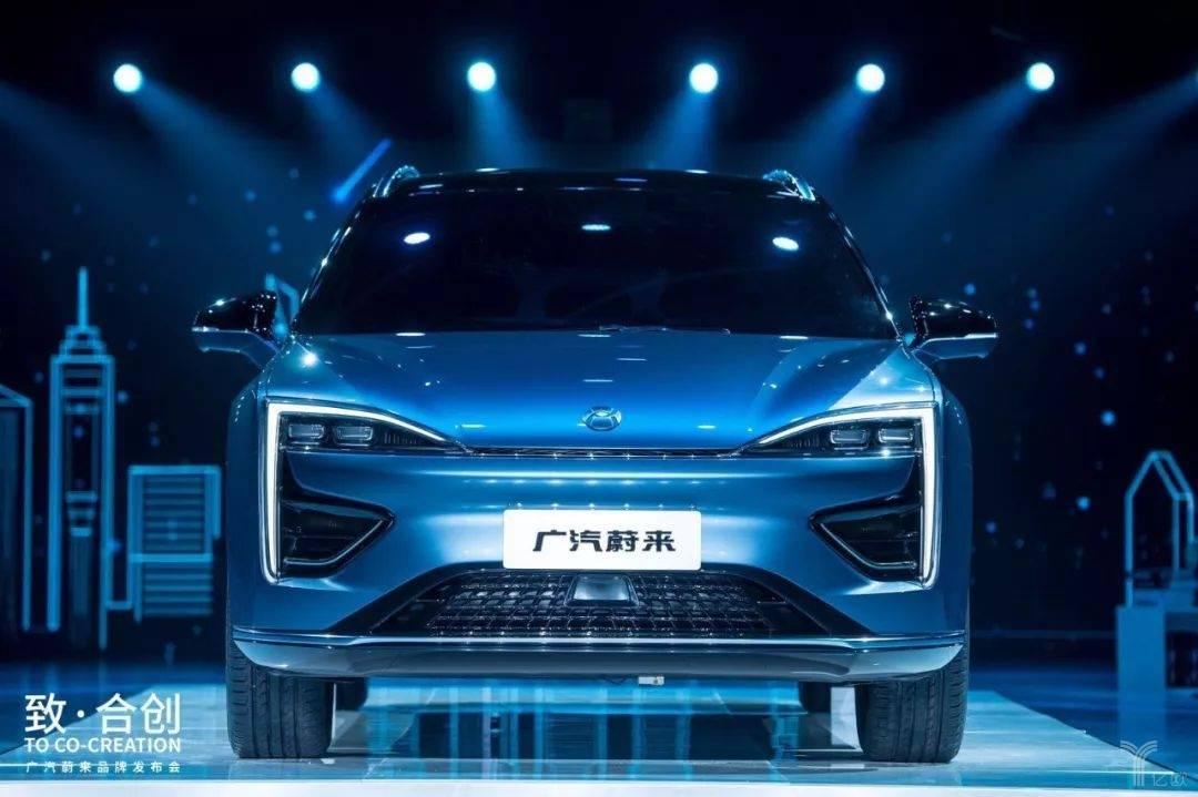 广汽蔚来品牌合创首款概念车发布
