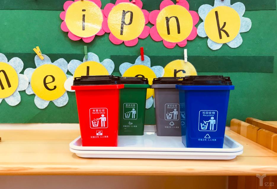 稚子社垃圾分类教具