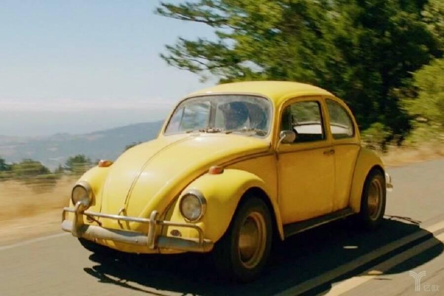 《大黄蜂》中的黄色甲壳虫