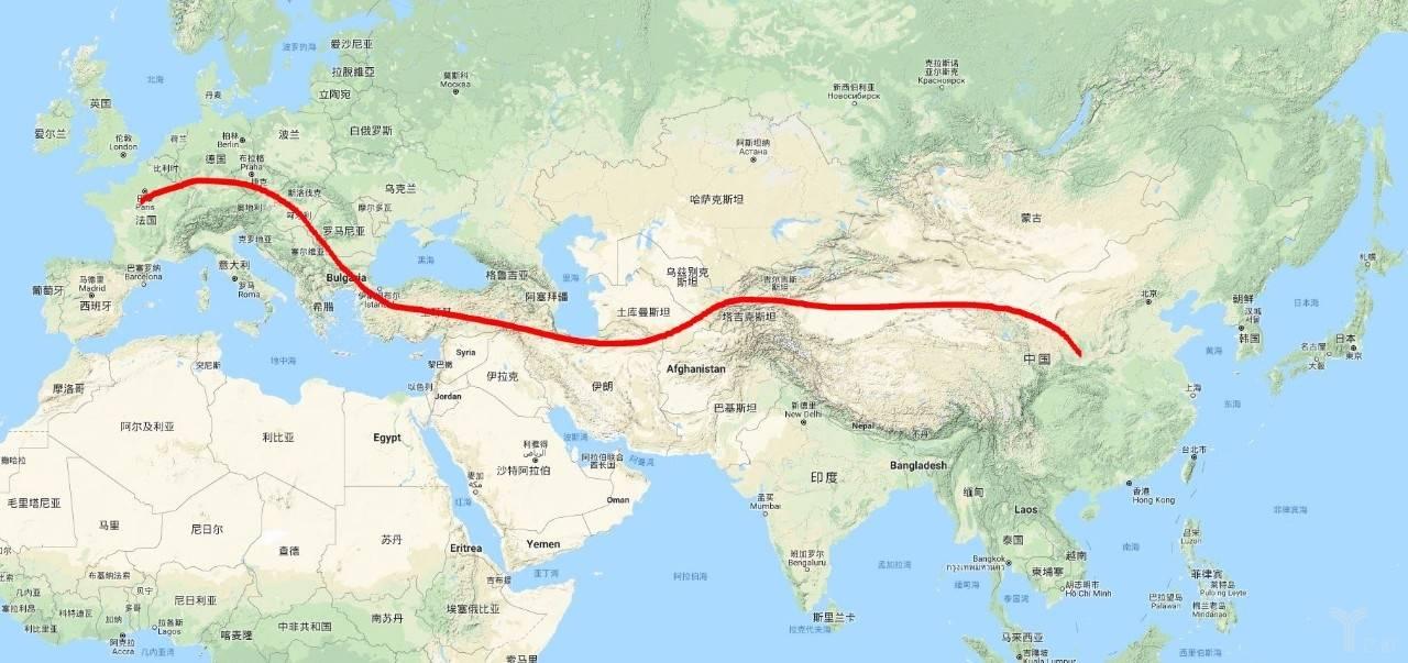 貿易發展路線