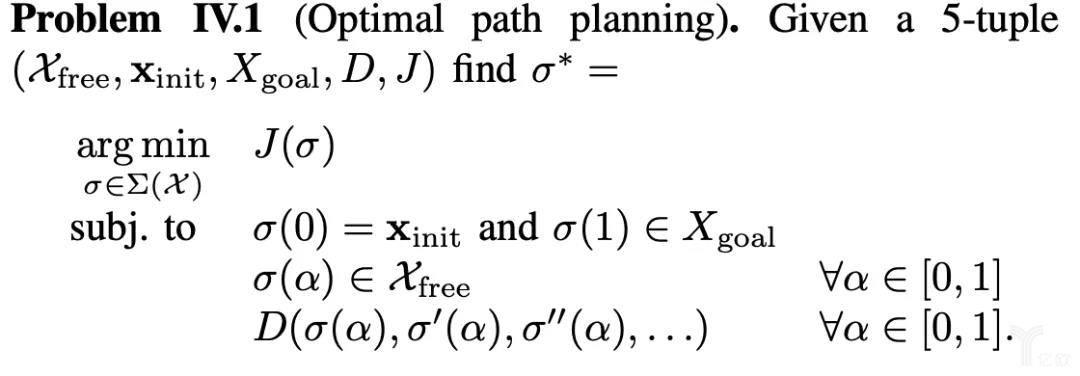 路径规划的定义