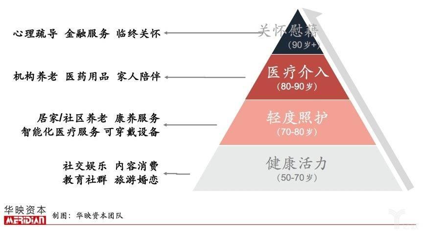 亿欧智库:银发需求金字塔