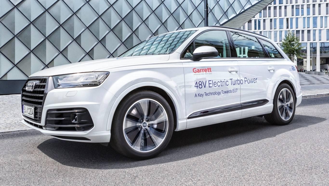 盖瑞特电动涡轮增压技术试验车