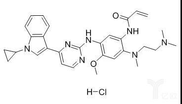 甲磺酸奥美替尼分子结构