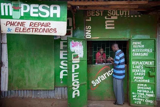 M-Pesa在肯尼亚