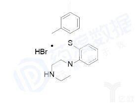亿欧智库:氢溴酸伏硫西汀化学结构式