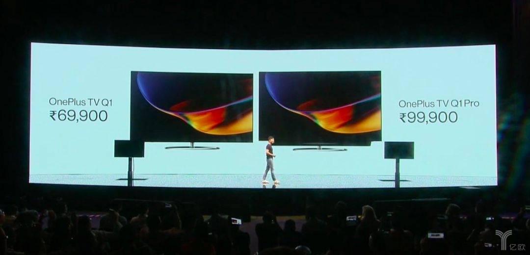 一加在印度发布的OnePlus TV Q1系列电视