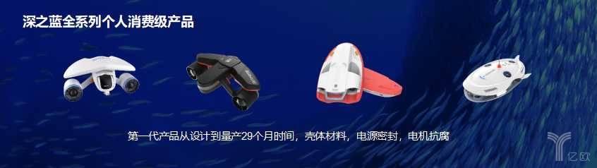 深之蓝全系列个人消费级产品