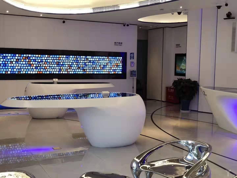 """亿欧智库:中国建设银行""""5G+智能银行""""建国支行客户旅程区域"""