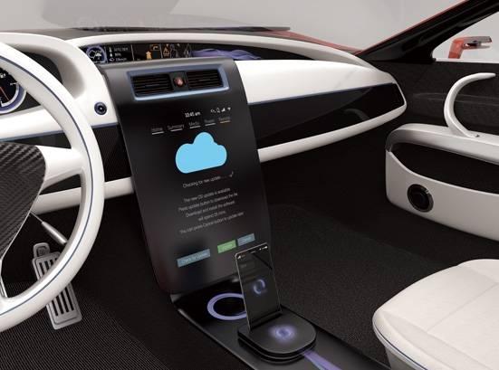 未来汽车中控