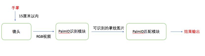 图4  掌纹支付流程示意图
