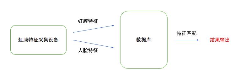 图6  虹膜支付流程示意图
