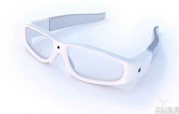 网传苹果AR眼镜设计
