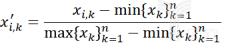 无量纲化处理的计算公式