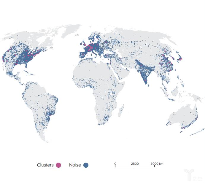 亿欧智库:2019年世界各地排名前列的科技集群