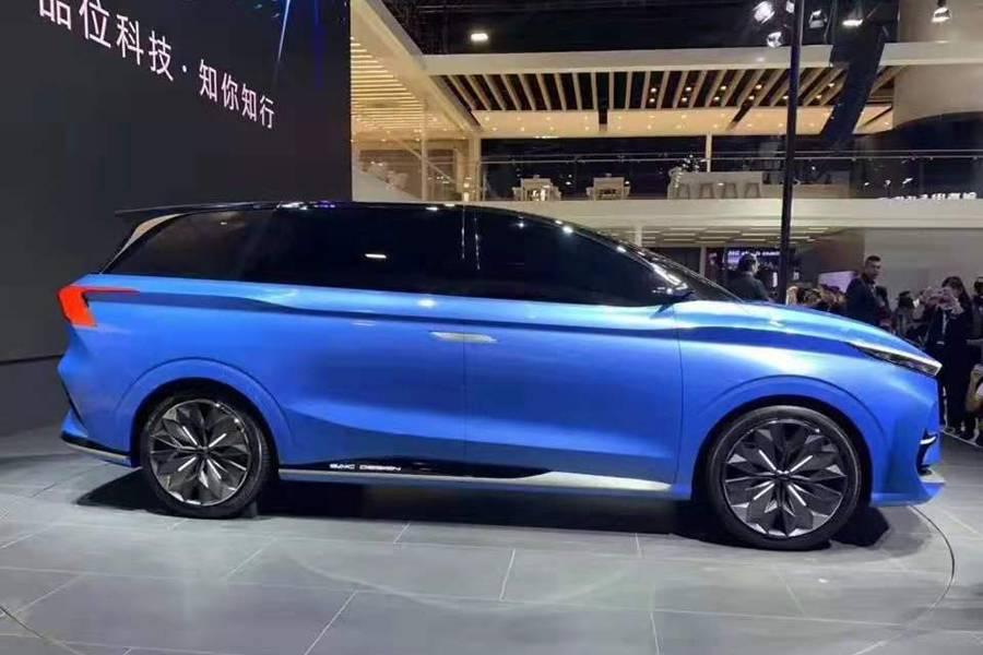 荣威Vision-iM Concept车身侧面