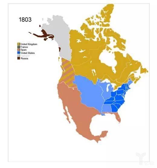 常垒资本:美国1803年领土面积