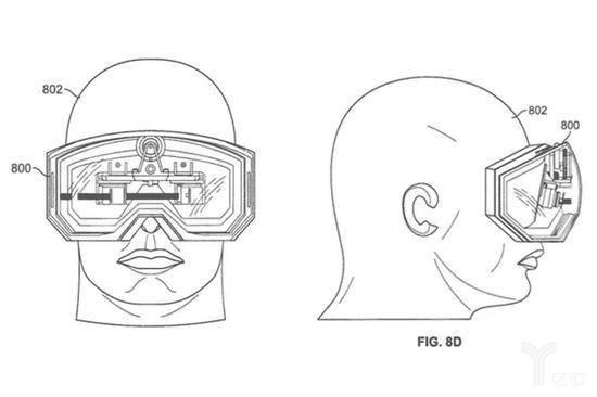 苹果申请了大量AR/VR眼镜专利