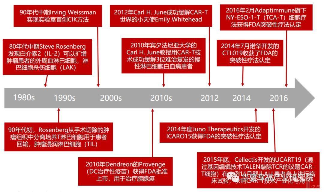 亿欧智库:过继细胞免疫疗法的演进历程