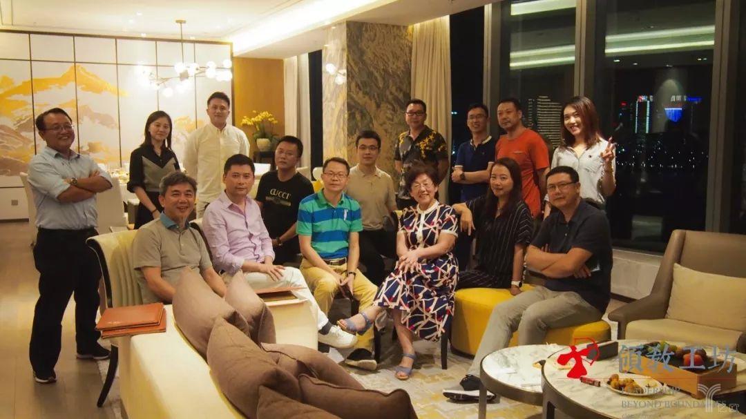 王佳芬与领教工坊私董会1516组组员