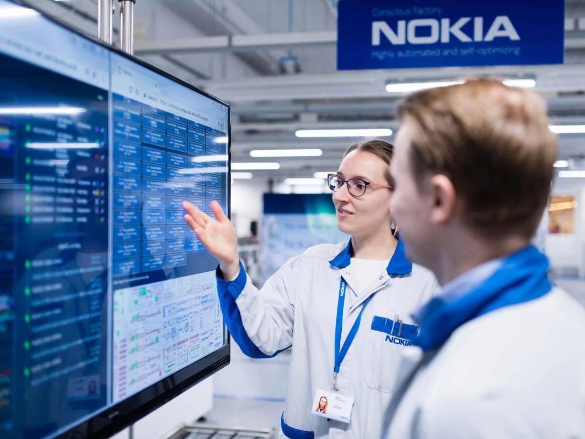 诺基亚未来工厂数字化平台