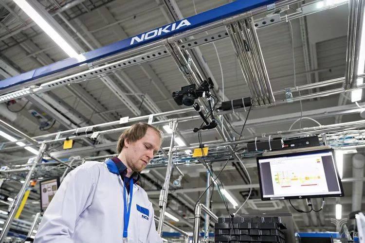 诺基亚工厂中的视频监控