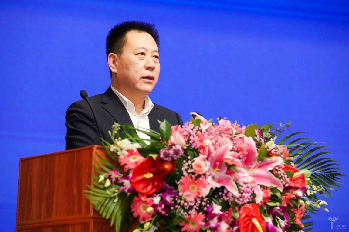 中拍协副会长兼车委会主任韩涛致辞
