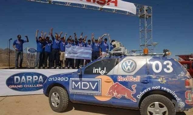 第2届DARPA冠军队伍汽车Stanley