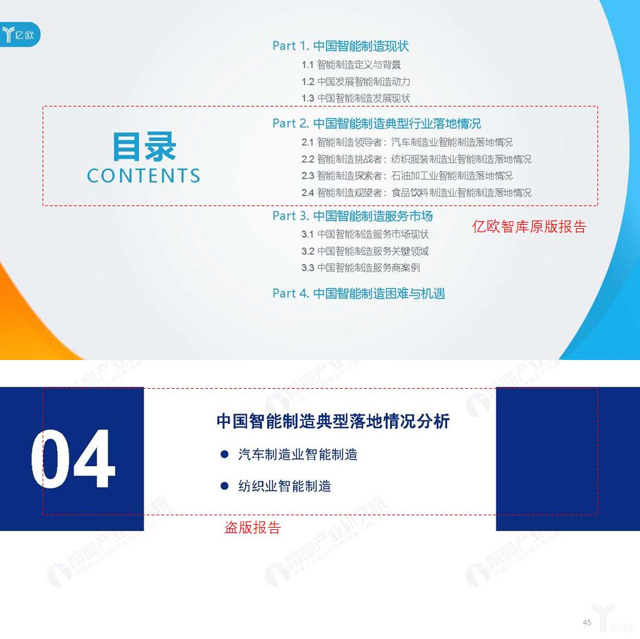无极荣耀智库:前瞻产业研究院抄袭