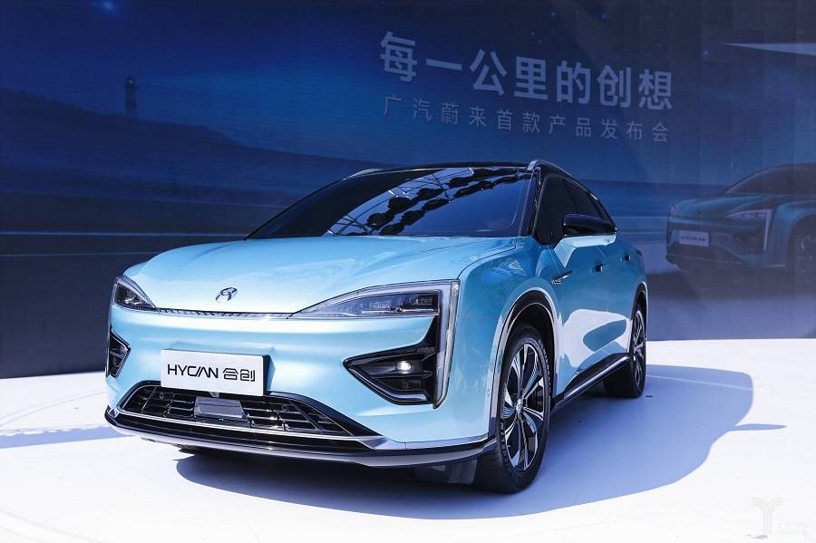 广汽蔚来首款量产纯电HYCAN 007