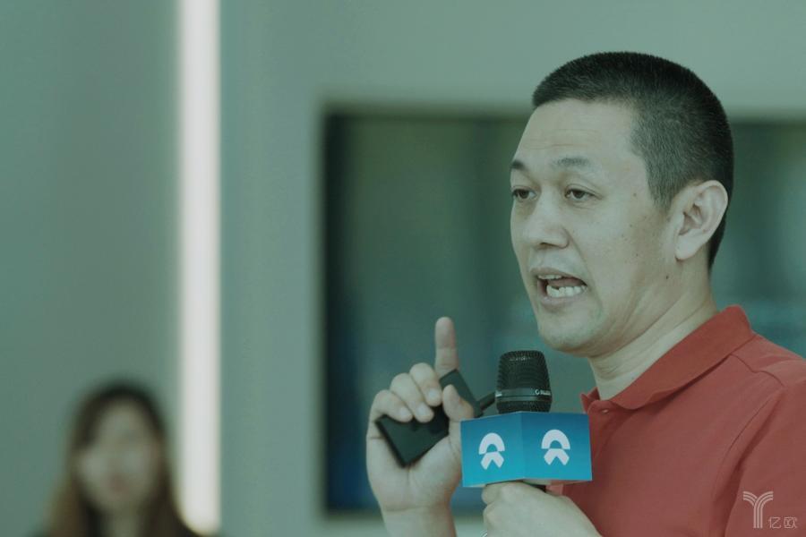 蔚来创始人、董事长、CEO李斌 / 亿欧网