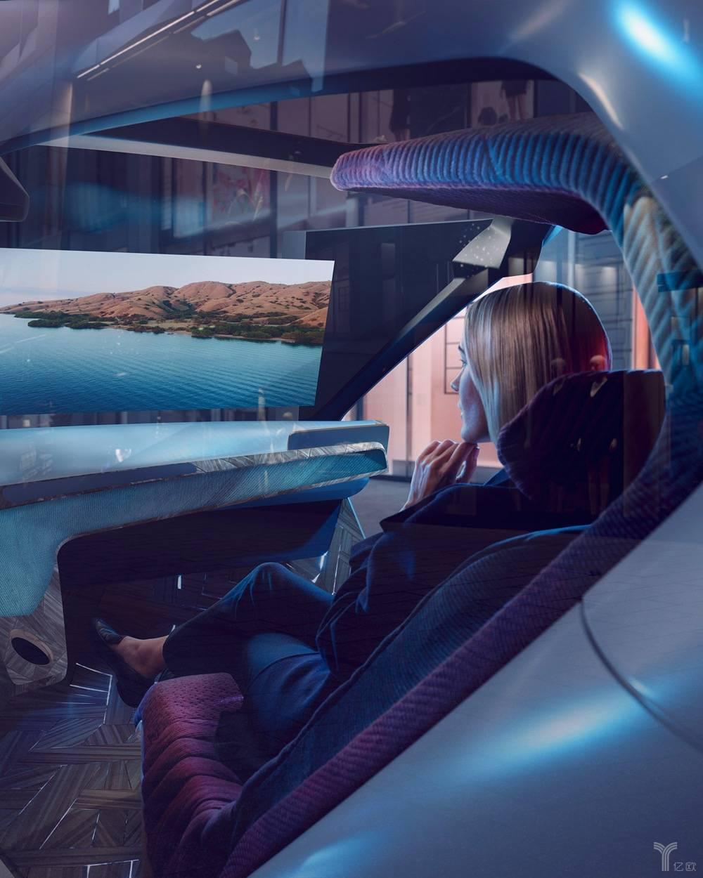 具备多模态交互功能的概念座舱/宝马集团