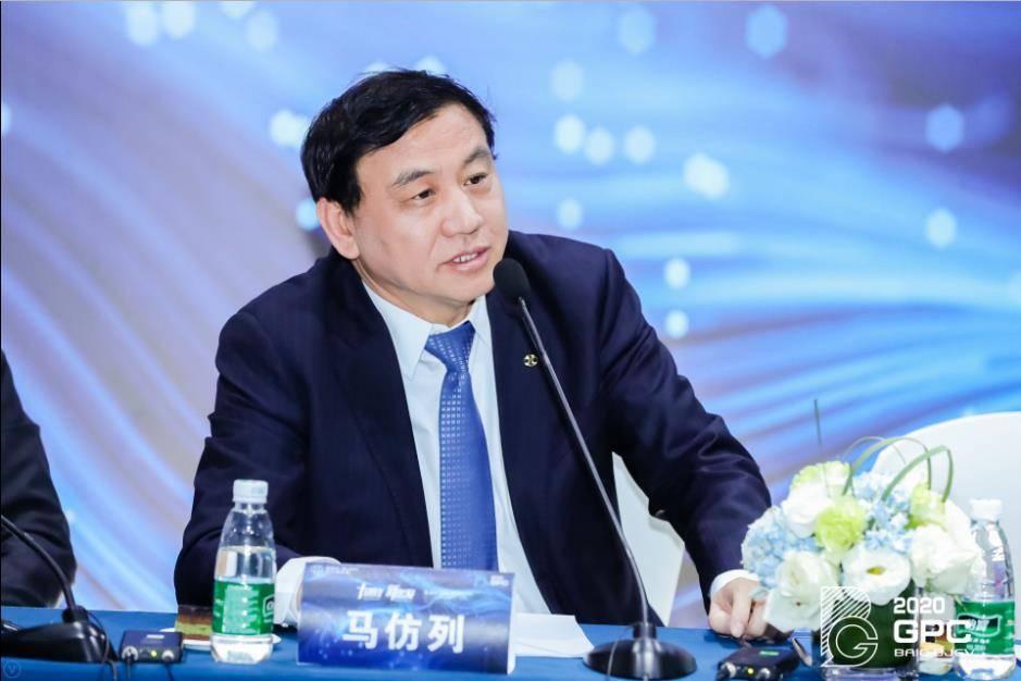 (北汽新能源党委副书记、总经理马仿列回答媒体提问)