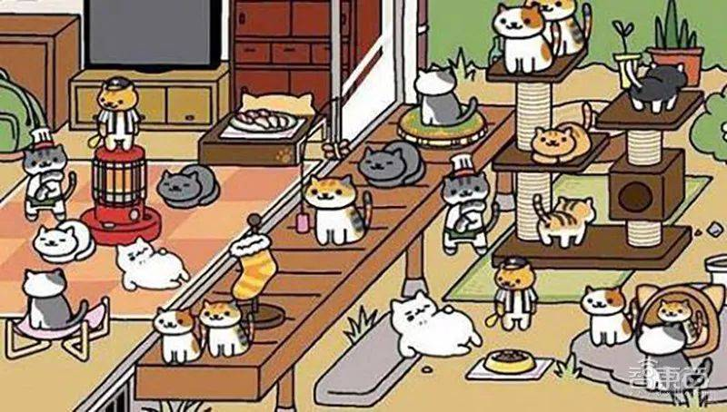 曾经风靡一时的猫咪后院游戏