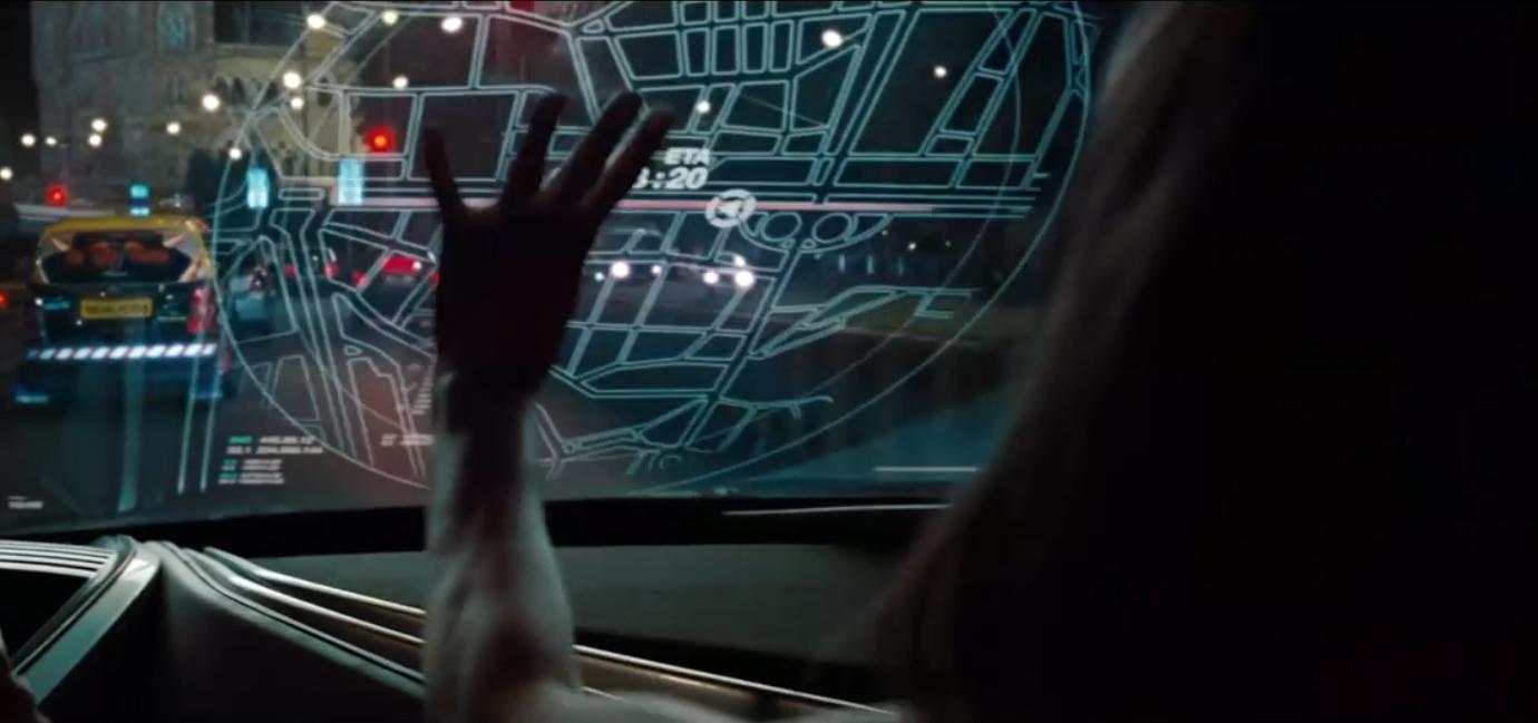 电影《碟中谍4·全面瓦解》中的全车窗HUD方案/电影截图