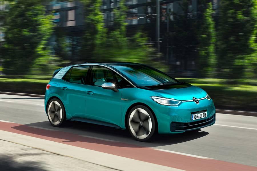 基于MEB平台打造的大众I.D.3纯电动汽车/大众中国官方