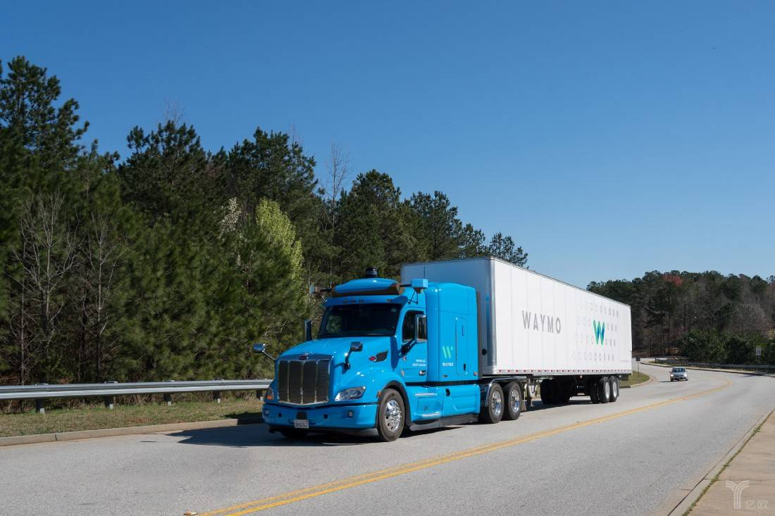 Waymo自动驾驶卡车