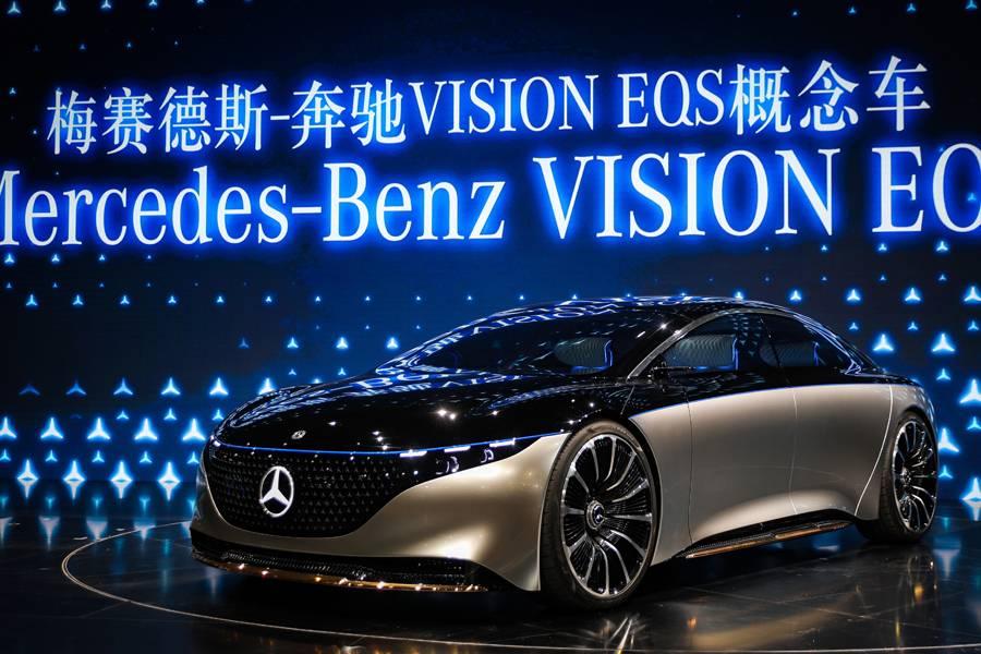 梅赛德斯-奔驰VISION EQS概念车/梅赛德斯-奔驰官方