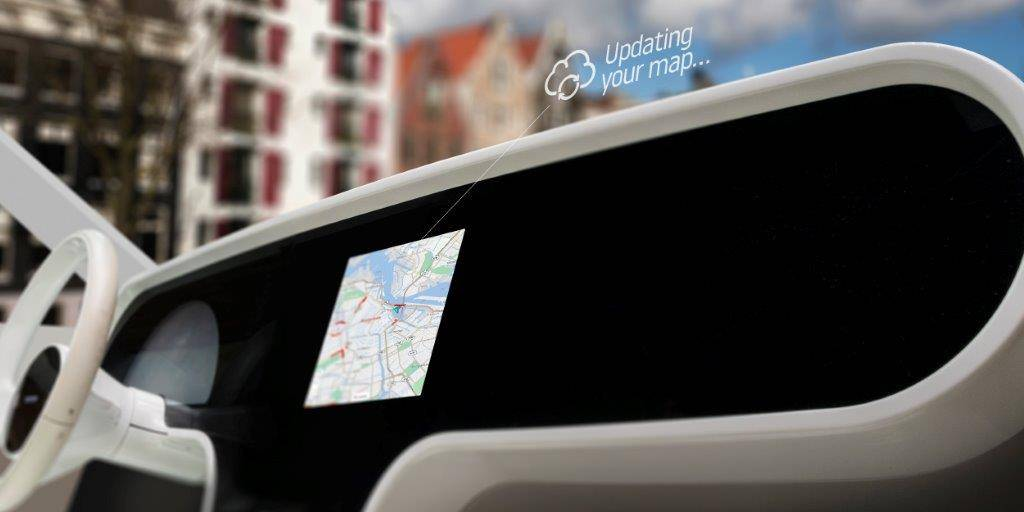 TomTom挑供给车企的车载地图方案/企业授权
