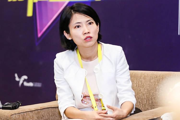 啟明創投合伙人黃佩華—2017新商業峰會采訪間