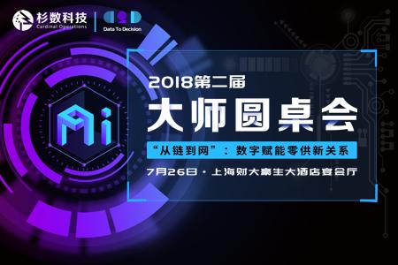 2018第二屆杉數科技AI大師圓桌會