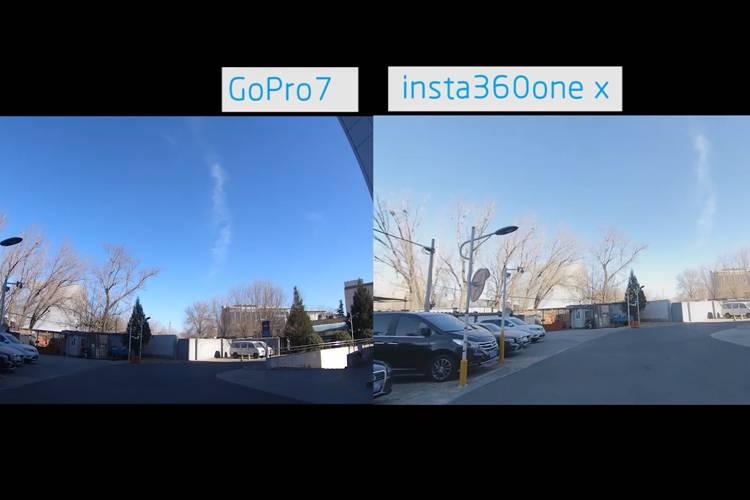 GoPro7体验:防抖竟然没有insta360 one x好?