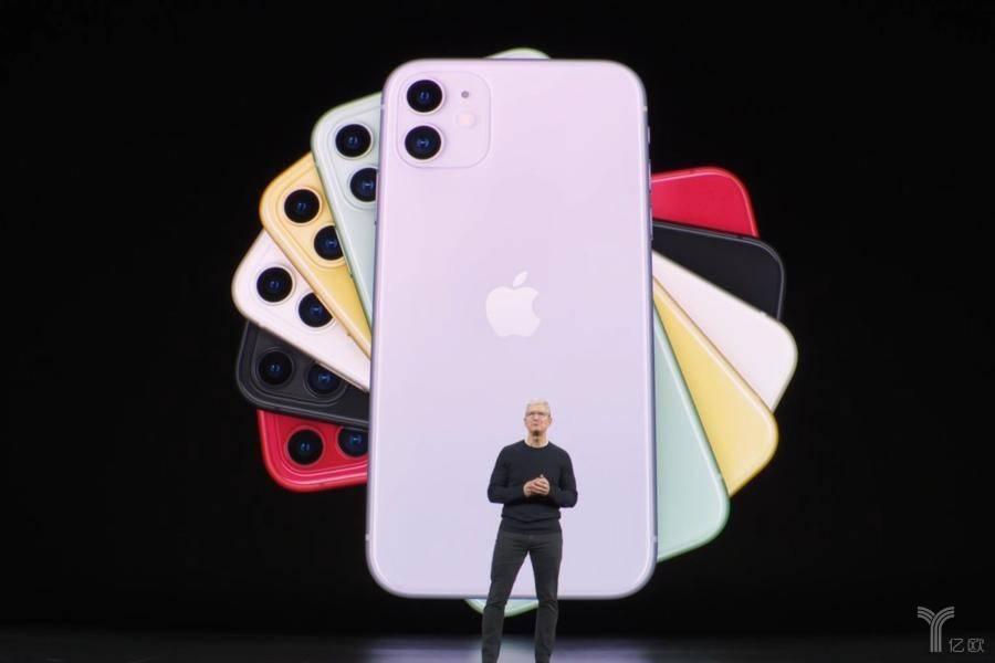 "iPhone11官宣靠谱,5G浪潮下苹果押注""浴霸相机""以一敌三"