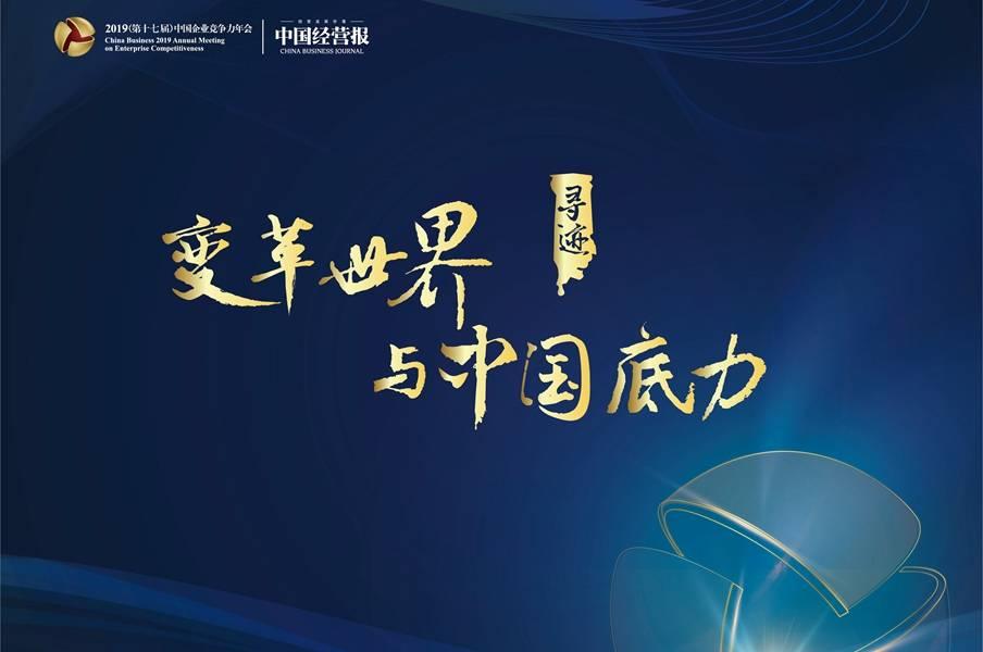 2019(第十七届)中国企业竞争力年会